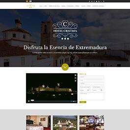 Propuesta para web corporativa Hotel Cristina