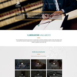 Propuesta para web corporativa Labrador Gallardo