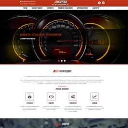Desarrollo de portal corporativo FCM Electrónica