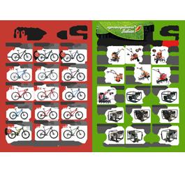 Folleto Comercial Bicicletas Julian y Agromaquinaria Julian