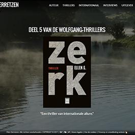 Portal web de la escritora Ellen Gerretzen